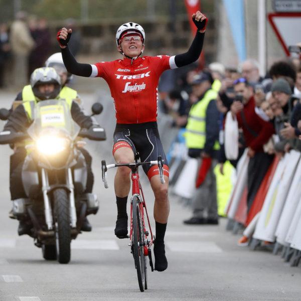 Toms Skujins winning in Mallorca